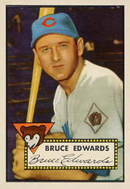 1952 Topps Bruce Edwards #224 Baseball Card