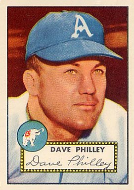 1952 Topps Dave Philley #226 Baseball Card