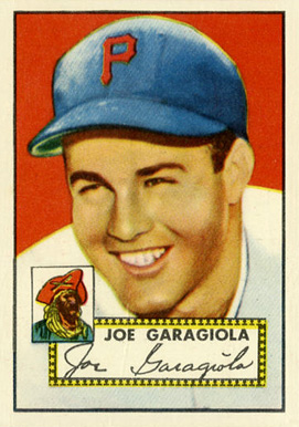 1952 Topps Joe Garagiola #227 Baseball Card