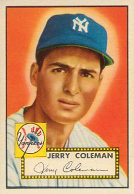1952 Topps Jerry Coleman #237 Baseball Card