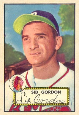 1952 Topps Sid Gordon #267 Baseball Card