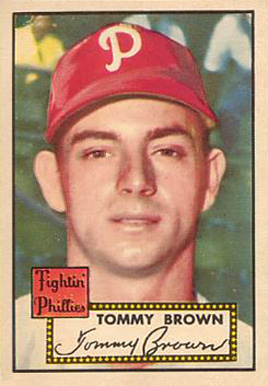 1952 Topps Tommy Brown #281 Baseball Card