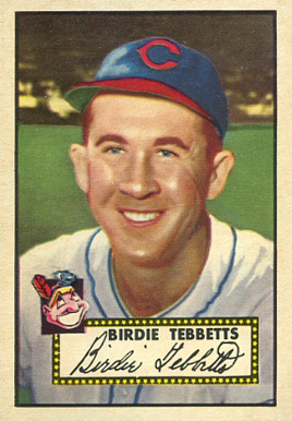 1952 Topps Birdie Tebbetts #282 Baseball Card