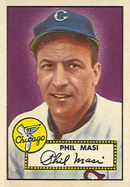 1952 Topps Phil Masi #283 Baseball Card