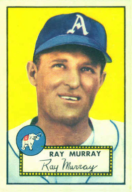 1952 Topps Ray Murray #299 Baseball Card