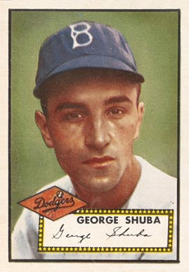1952 Topps George Shuba #326 Baseball Card