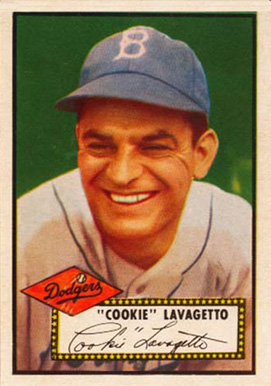 1952 Topps Cookie Lavagetto #365 Baseball Card