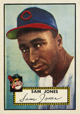 1952 Topps Sam Jones #382 Baseball Card