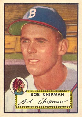 1952 Topps Bob Chipman #388 Baseball Card