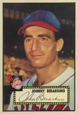 1952 Topps Johnny Berardino #253 Baseball Card