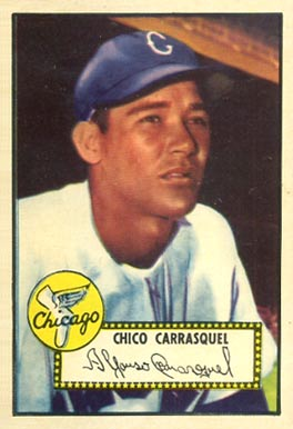 1952 Topps Chico Carrasquel #251 Baseball Card