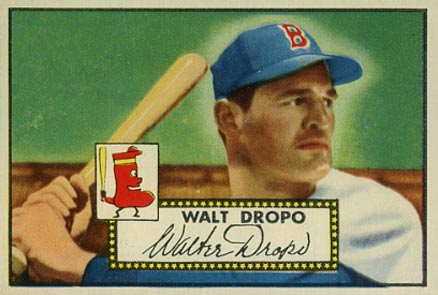 1952 Topps Walt Dropo #235 Baseball Card