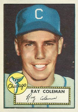 1952 Topps Ray Coleman #211 Baseball Card