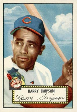 1952 Topps Harry Simpson #193 Baseball Card