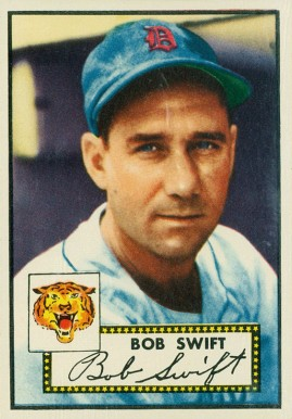 1952 Topps Bob Swift #181 Baseball Card