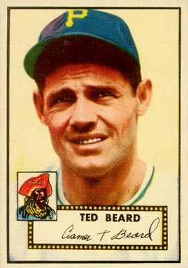 1952 Topps Ted Beard #150 Baseball Card