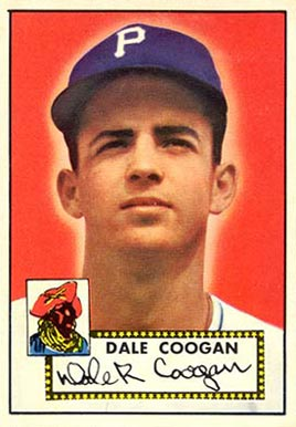 1952 Topps Dale Coogan #87 Baseball Card