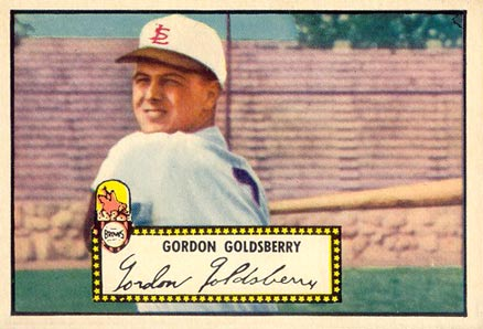 1952 Topps Gordon Goldsberry #46 Baseball Card