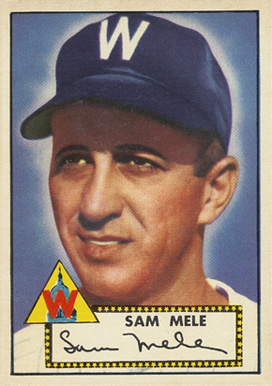 1952 Topps Sam Mele #94 Baseball Card