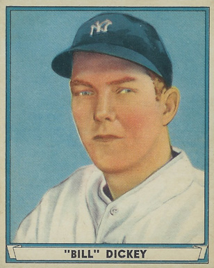 1941 Play Ball Bill Dickey #70 Baseball Card