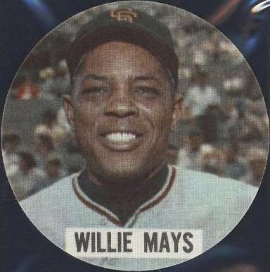 1961 Chemstrand Iron-On Patches Willie Mays #8 Baseball Card