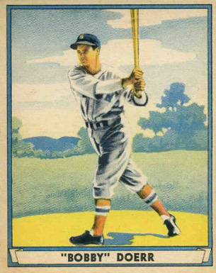 1941 Play Ball Bobby Doerr #64 Baseball Card