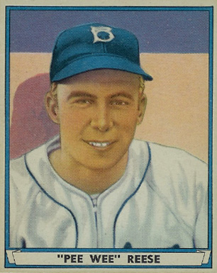 1941 Play Ball Pee Wee Reese #54 Baseball Card
