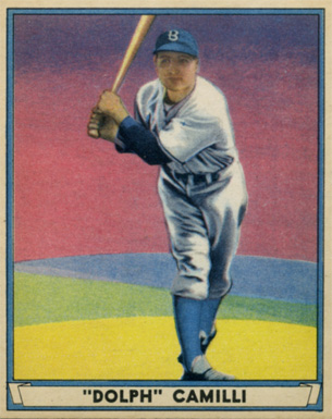 1941 Play Ball Dolph Camilli #51 Baseball Card