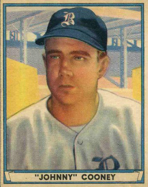 1941 Play Ball (1941) Johnny Cooney #50 Baseball Card