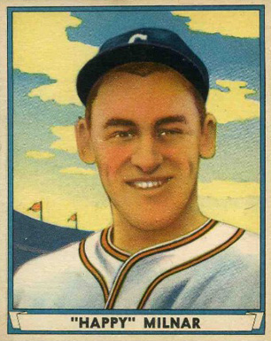 1941 Play Ball Happy Milnar #33 Baseball Card