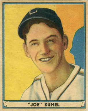 1941 Play Ball Joe Kuhel #31 Baseball Card