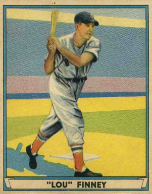 1941 Play Ball Lou Finney #30 Baseball Card