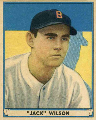 1941 Play Ball Jack Wilson #29 Baseball Card