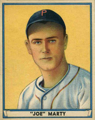 1941 Play Ball Joe Marty #28 Baseball Card