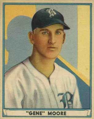 1941 Play Ball Gene Moore #25 Baseball Card
