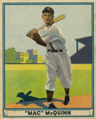 1941 Play Ball George McQuinn #23 Baseball Card