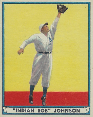 1941 Play Ball Bob Johnson #22 Baseball Card