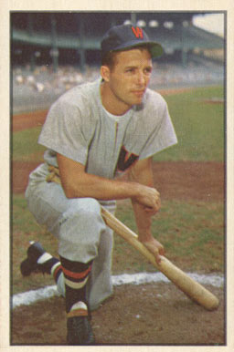 1953 Bowman Color Jim Busby #15 Baseball Card