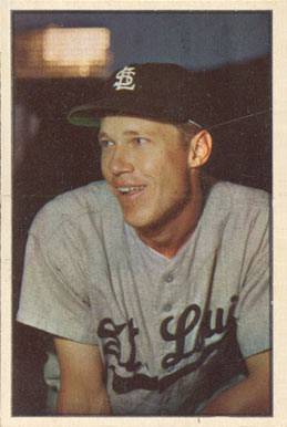 1953 Bowman Color Don Lenhardt #20 Baseball Card