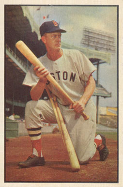 1953 Bowman Color Hoot Evers #25 Baseball Card