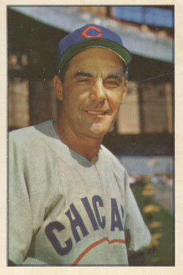 1953 Bowman Color Phil Cavarretta #30 Baseball Card
