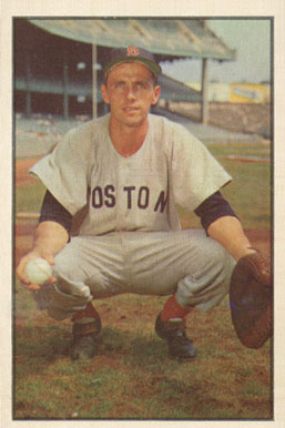 1953 Bowman Color Sammy White #41 Baseball Card