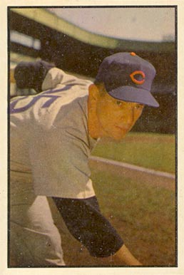 1953 Bowman Color Turk Lown #154 Baseball Card