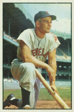1953 Bowman Color Al Rosen #8 Baseball Card