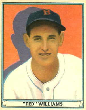 1941 Play Ball Ted Williams #14 Baseball Card