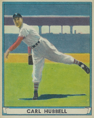1941 Play Ball Carl Hubbell #6 Baseball Card