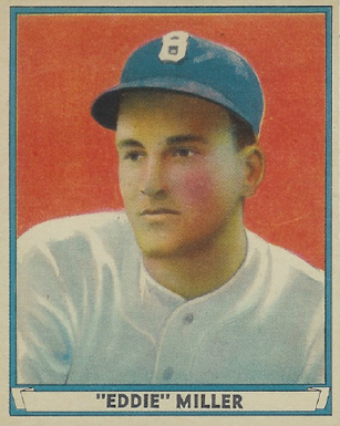 1941 Play Ball Eddie Miller #1 Baseball Card