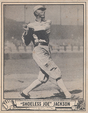 1940 Play Ball Joe Jackson #225 Baseball Card