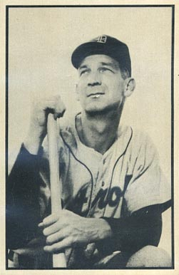 1953 Bowman Black & White Pat Mullin #4 Baseball Card