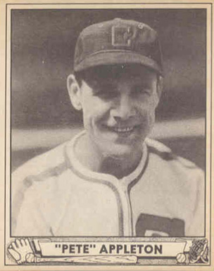 1940 Play Ball Pete Appleton #128 Baseball Card